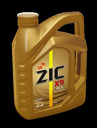 Моторное масло ZIC X9 5W-30 4л