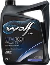 Моторное масло Wolf Vital Tech 5W-40 PI C3 5л