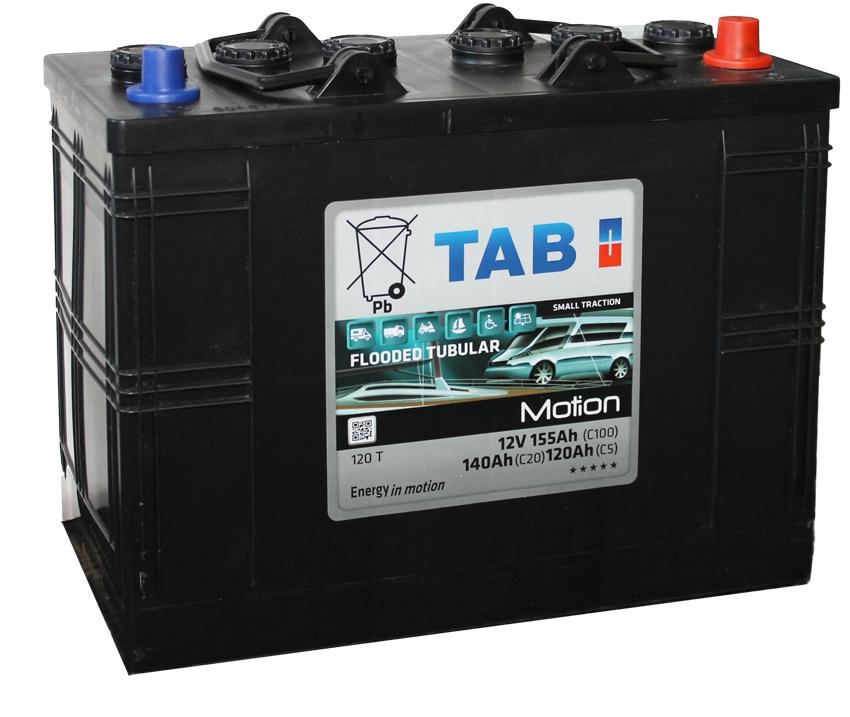 Аккумулятор TAB Motion Tabular 140 (C20) / 120 (С5) R (тяговый)