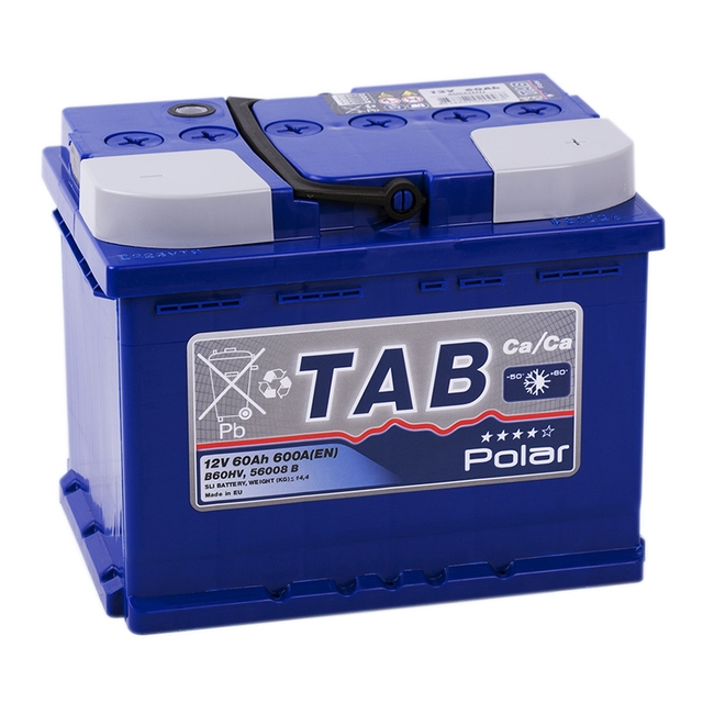 Аккумулятор TAB Polar Blue 60 R (60 А/ч)