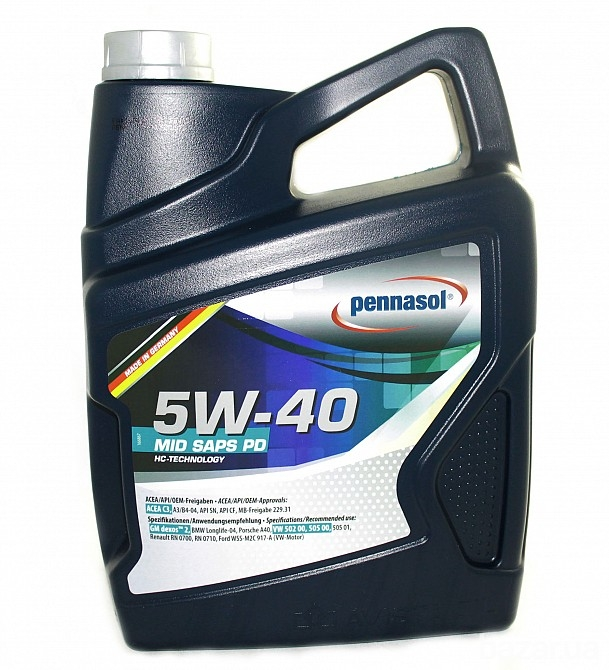 Моторное масло Pennasol Mid Saps PD 5W-40 5л