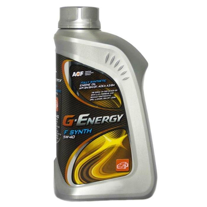 Моторное масло G-Energy F Synth 5W-40 1л