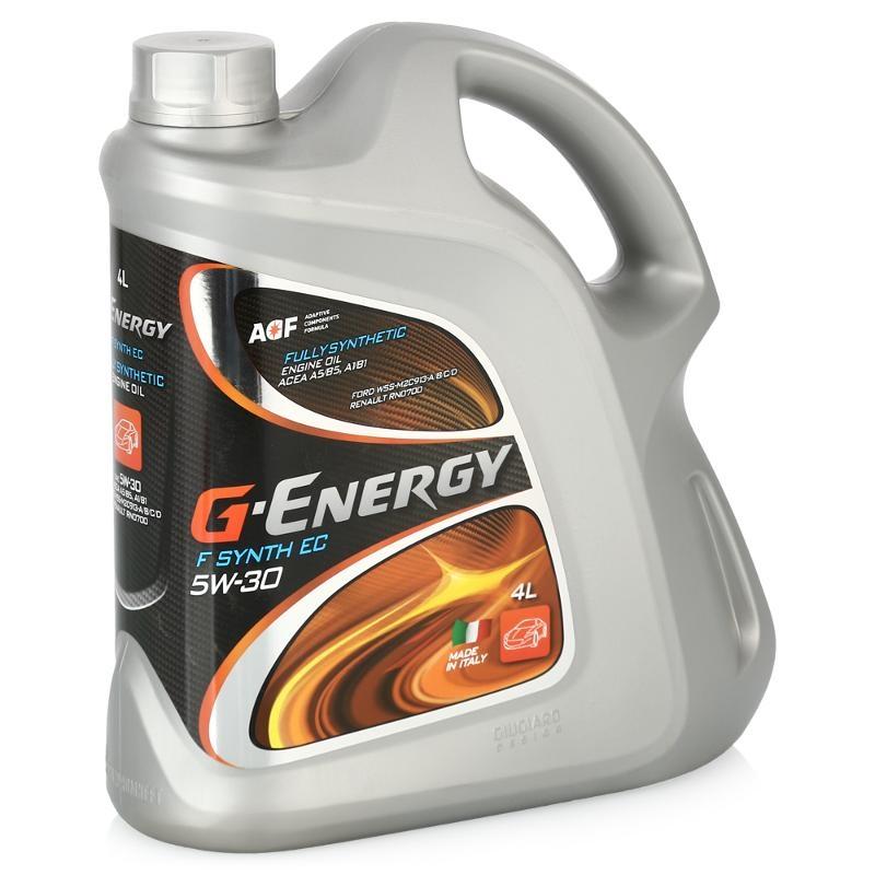 Моторное масло G-Energy F Synth EC 5W-30 4л
