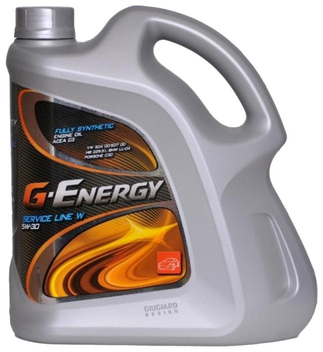 Моторное масло G-Energy Service Line W 5W-30 4л