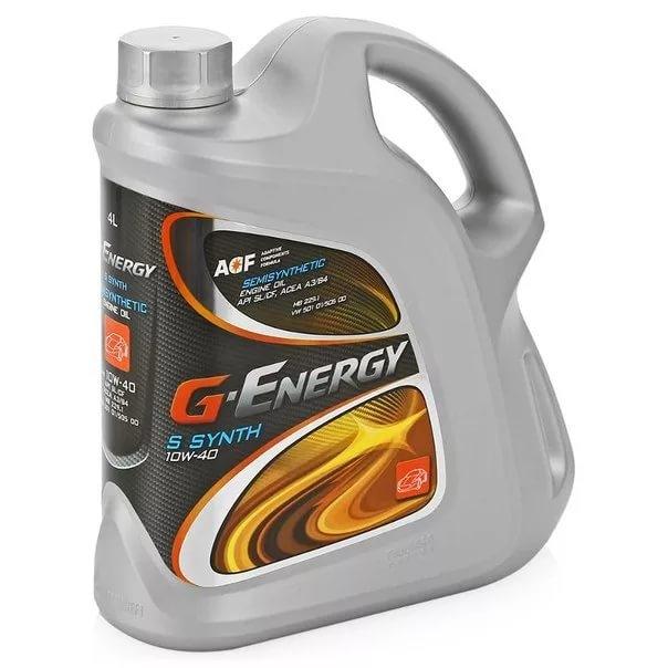Моторное масло G-Energy S Synth 10W-40 5л