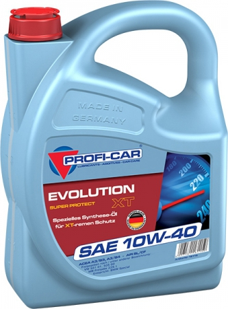 Моторное масло Profi-Car 10W-40 EVOLUTION XT 4л