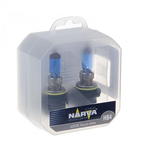 Галогенная лампа Narva HB4 Range Power White 2шт