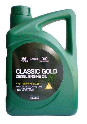 Моторное масло Hyundai/KIA CLASSIC GOLD DIESEL 10W-30 4л