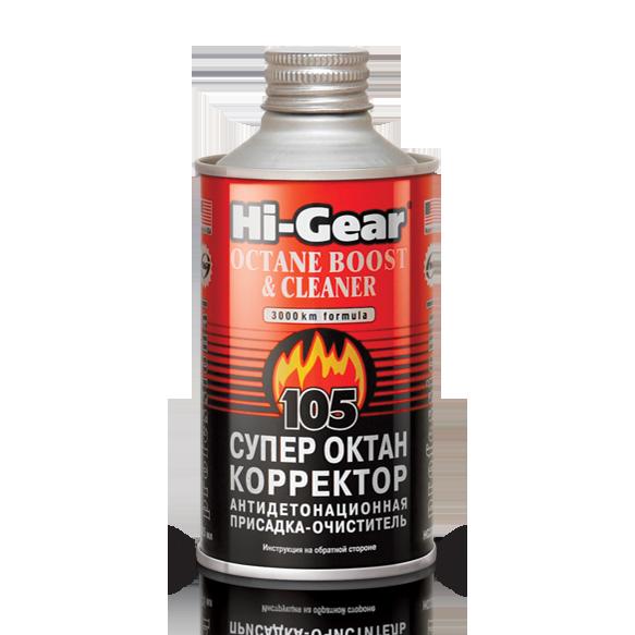 Присадка в топливо Hi-Gear Octane Boost & Cleaner 325 мл (HG3306)