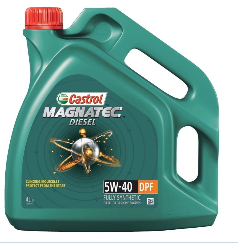 Моторное масло Castrol Magnatec 5W-40 DPF Diesel 4л