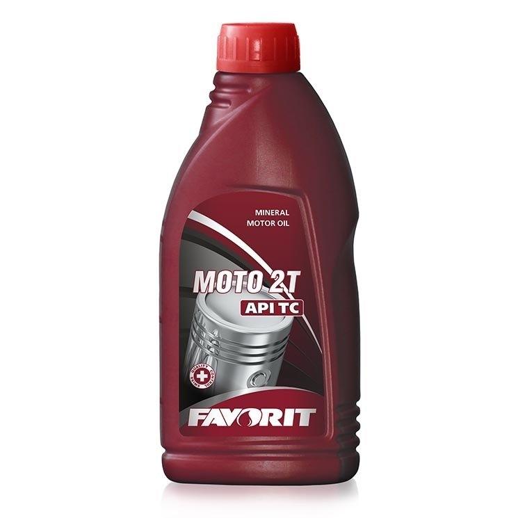 Моторное масло Favorit Moto 2T API TC 1л