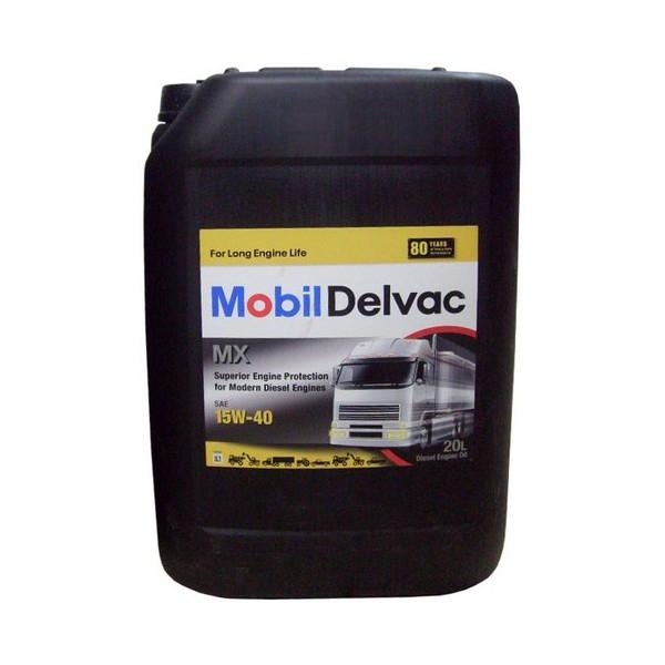 Моторное масло Mobil Delvac MX 15W-40 20л