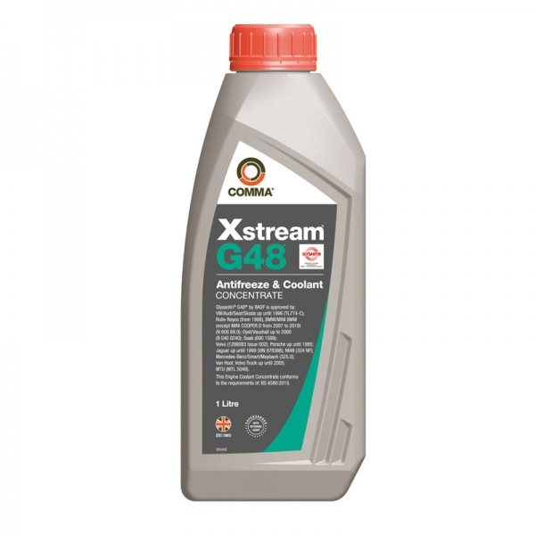 Антифриз Comma Xstream G48 Antifreeze Coolant Concentrate 1л