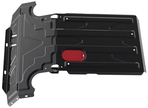 Защита двигателя и радиатора АвтоБРОНЯ Chevrolet Niva