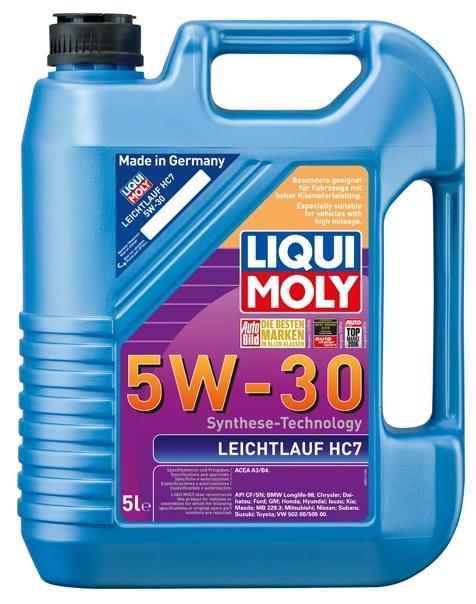 Моторное масло Liqui Moly Leichtlauf HC7 5W-30 5л