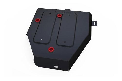 Защита топливного бака АвтоБРОНЯ Kia Sportage 4WD 2010-