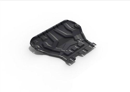 Защита двигателя и КПП АвтоБРОНЯ Skoda Octavia A7 2013-
