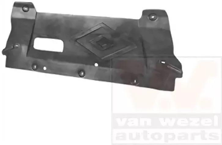 Защита двигателя Van Wezel Nissan Qashqai +2 J10