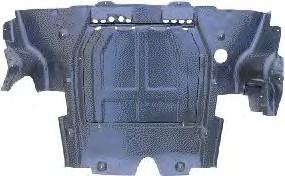 Защита двигателя Van Wezel Opel Astra G