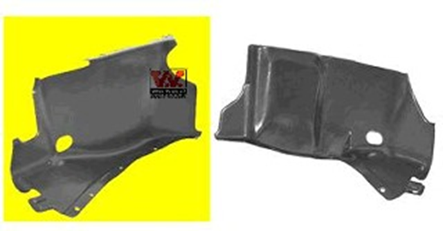 Защита двигателя Van Wezel Audi A3 96-03 прав.