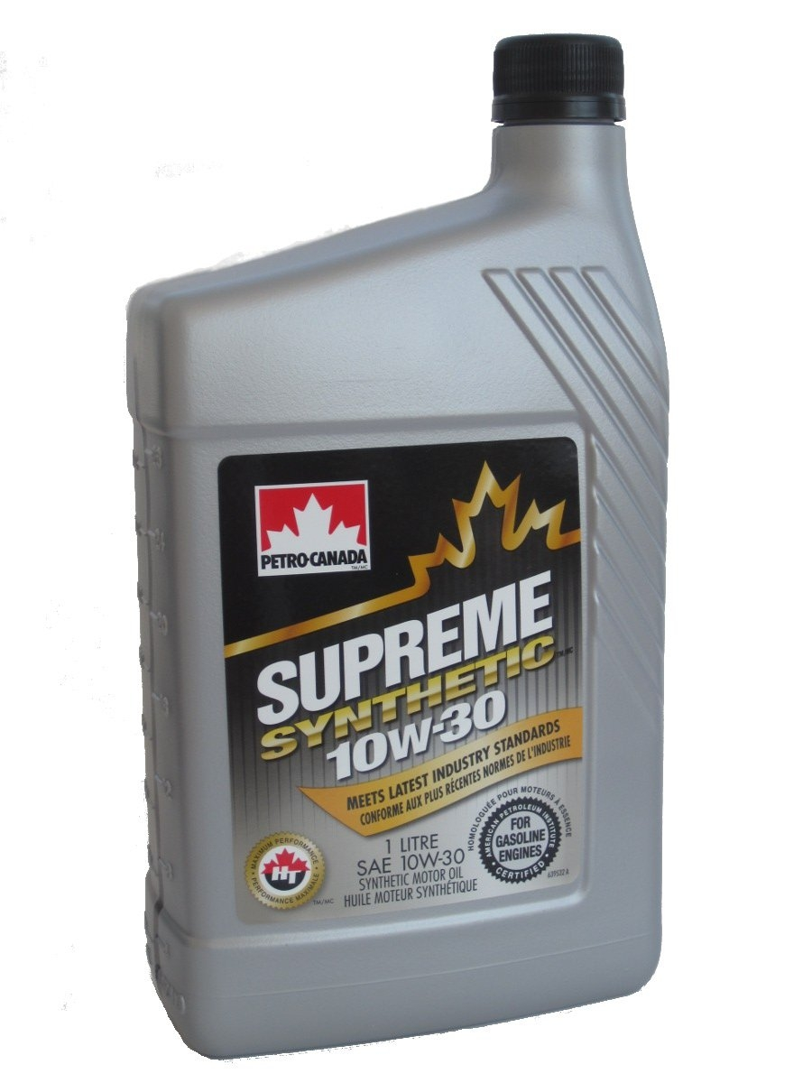 Моторное масло Petro-Canada Supreme Synthetic 10W-30 1л