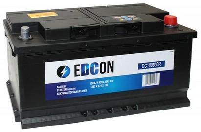 Аккумулятор Edcon DC100830R (100 А/ч)