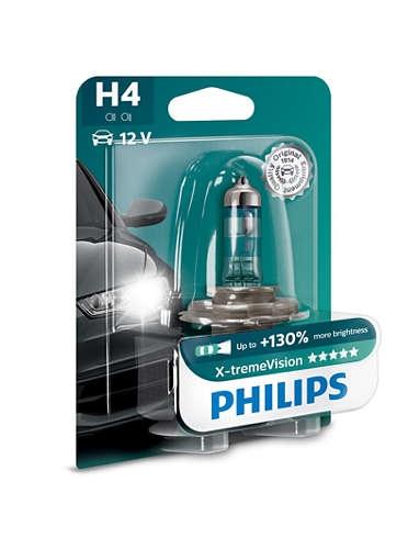 Лампа галогенная Philips H4 X-Treme Vision 1 шт