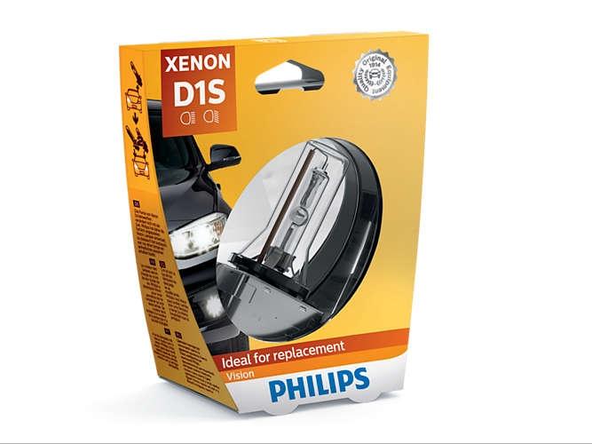 Лампа ксеноновая Philips D1S Xenon Vision 1 шт