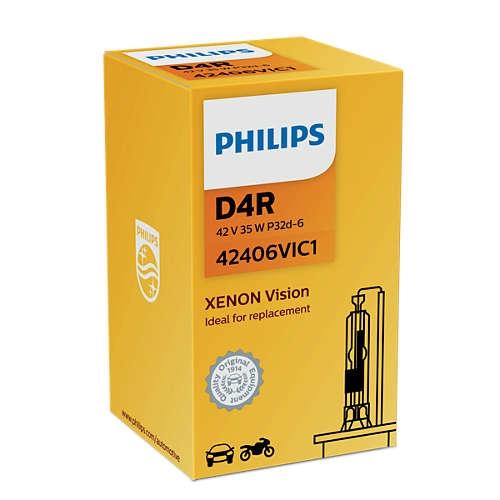 Лампа ксеноновая Philips D4R Xenon Vision 1 шт
