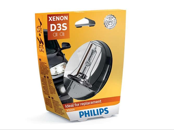 Лампа ксеноновая Philips D3S Xenon Vision 1шт (42403VIC1)