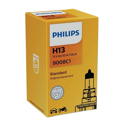 Лампа галогенная Philips H13 Standart 1 шт