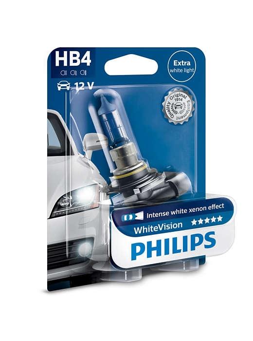 Лампа галогенная Philips HB4 WhiteVision 1 шт