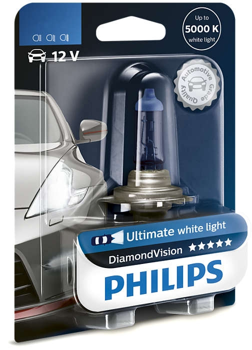 Лампа галогенная Philips HB4 Diamond Vision 1 шт