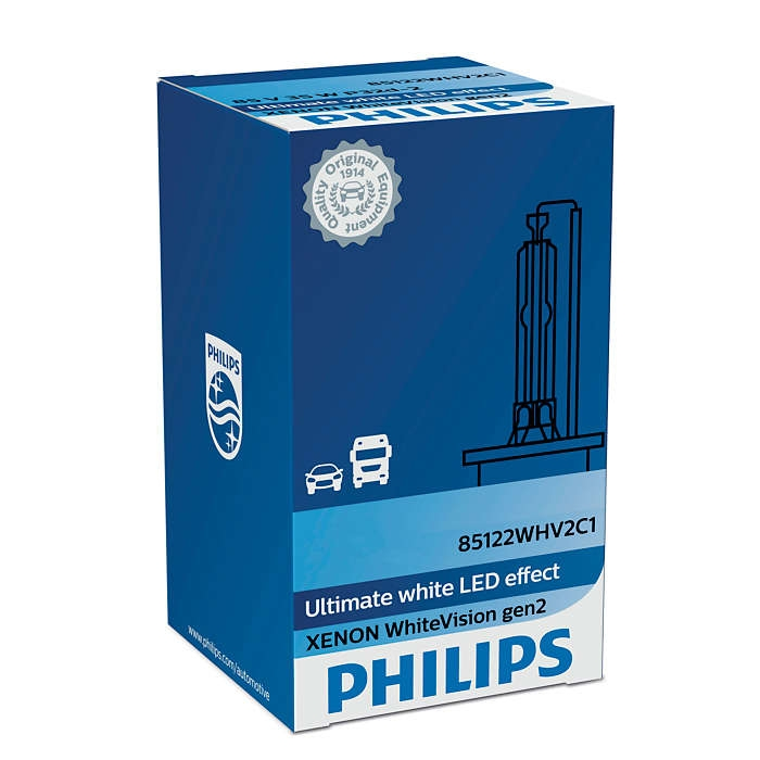 Лампа ксеноновая Philips D1S Xenon WhiteVision gen2 1 шт