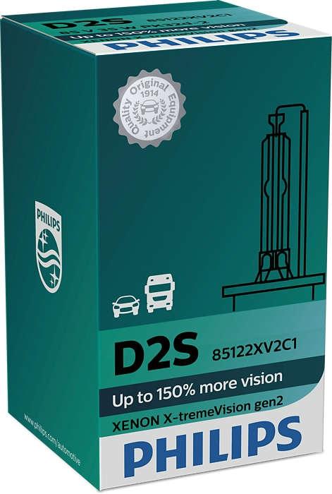 Лампа ксеноновая Philips D2S X-treme Vision gen2 1 шт