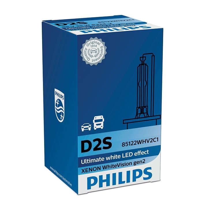 Лампа ксеноновая Philips D2S WhiteVision gen2 1 шт