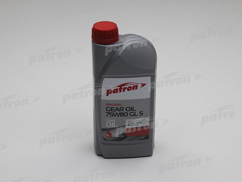 Трансмиссионное масло Patron GL5 75W-80 1л