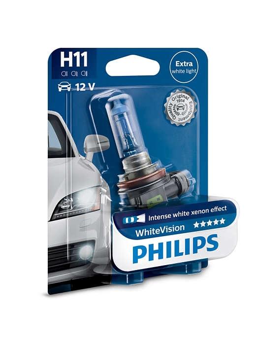 Лампа галогенная Philips H11 WhiteVision 1шт