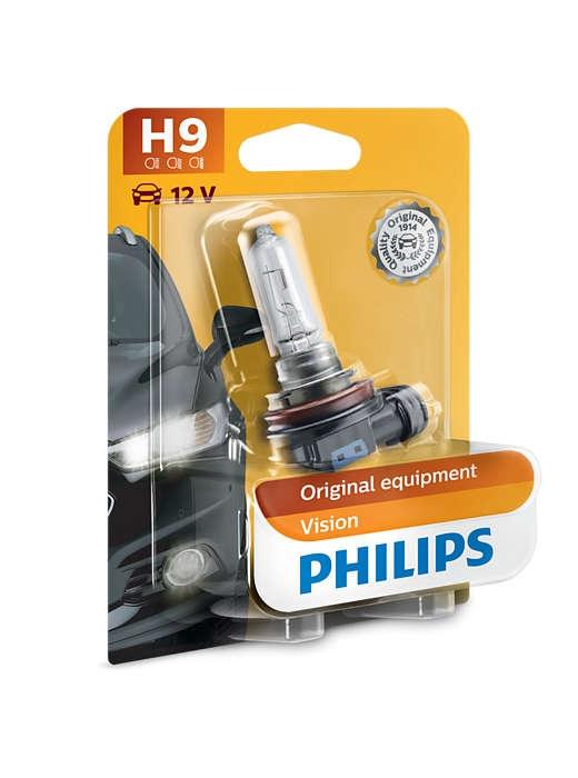 Лампа галогенная Philips H9 Standart 1шт