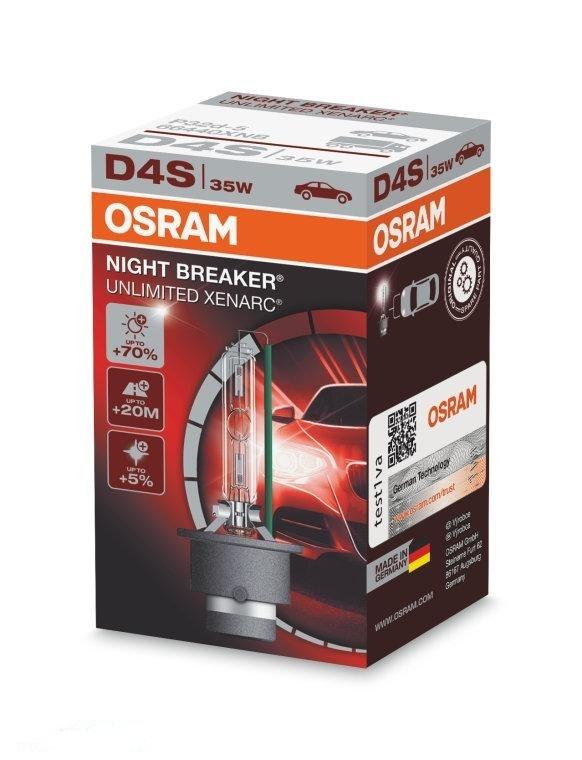 Лампа ксеноновая Osram Xenarc Night Breaker Unlimited D4S 1шт (66440XNB)