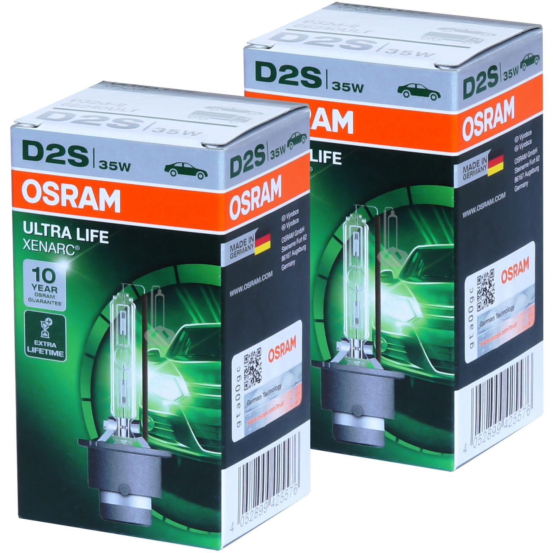 Лампа ксеноновая Osram XENARC ULTRA LIFE D2S 1шт (66240ULT)