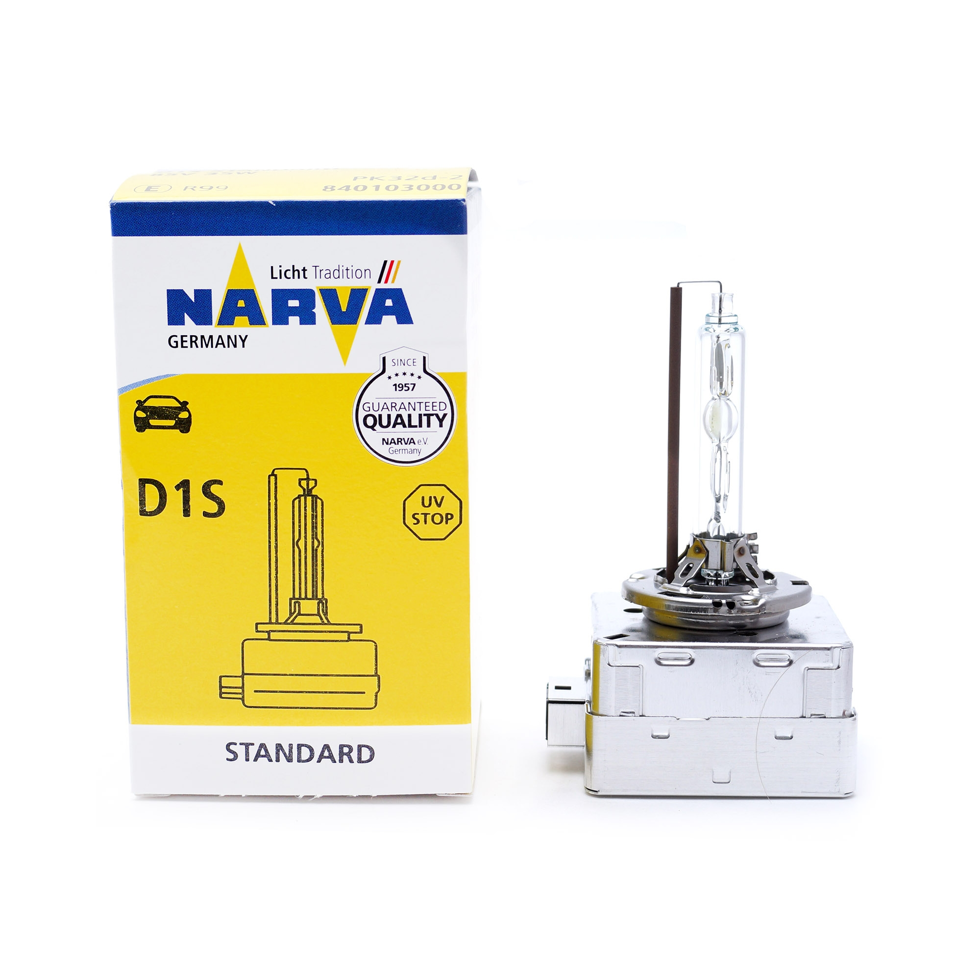 Лампа ксеноновая Narva  D1S 1шт