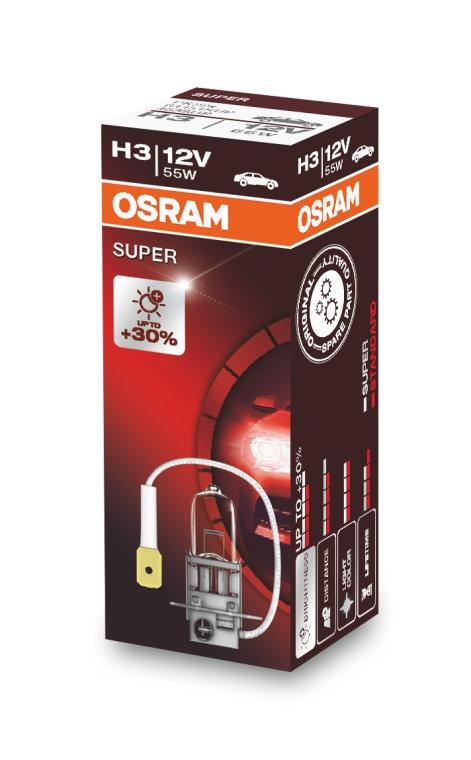 Лампа галогенная Osram SUPER H3 1шт