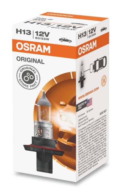 Лампа галогенная Osram H13 Original Line 1шт