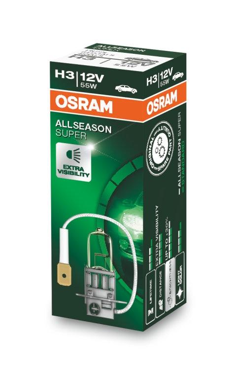 Лампа галогенная Osram H3 Allseason Super 1шт