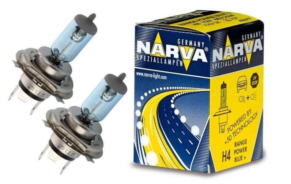 Лампа галогенная Narva H4 Range Power Blue+ 1 шт
