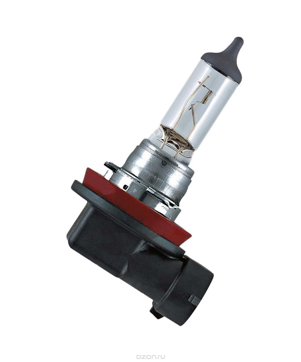 Лампа галогенная Hella H8 12V 35W +30% света (PGJ19-1) 1 шт
