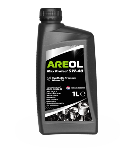 Моторное масло Areol Max Protect 5W-40 1л