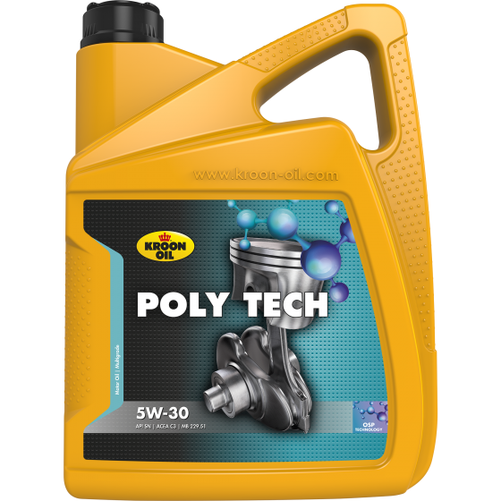Моторное масло Kroon Oil Poly Tech 5W-30 1л