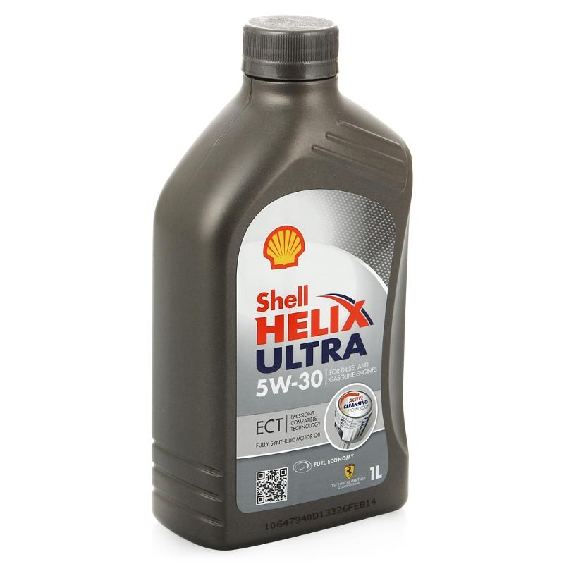 Моторное масло Shell Helix Ultra 5W-30 1л